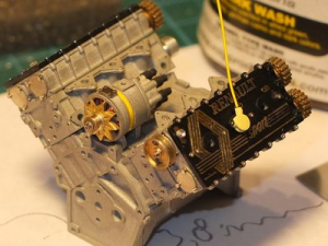 Miko 79T engine on the lathe
